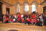 """Messina, a piazza Antonello un tripudio di colori e luci per """"Sfere di Natale"""" - Foto"""