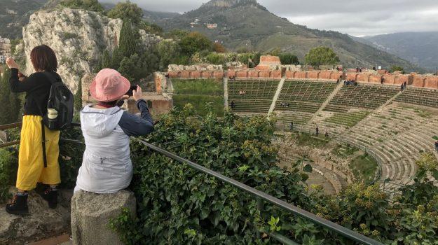 taormina, teatro, turisti, Messina, Sicilia, Cultura
