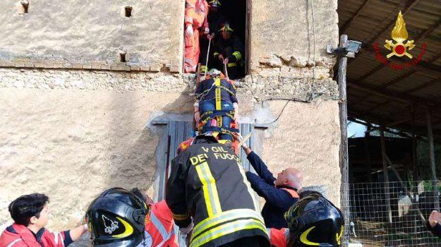 Vigili del fuoco in azione, le foto dell'esercitazione a Sant'Onofrio