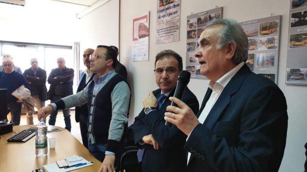 atm, autobus, cgil, cisl, Faisa, lavoro, orsa, sciopero, ugl, uil, Cateno De Luca, Messina, Sicilia, Politica