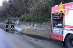 Statale 280, smottamento tra Maida e Lamezia Terme: detriti sulla strada