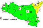 Meteo, torna il maltempo con venti di burrasca in Sicilia: allerta gialla a Messina