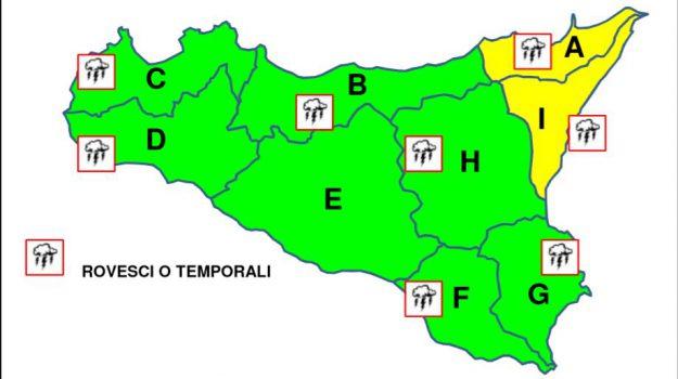 allerta meteo, maltempo, Messina, Sicilia, Meteo