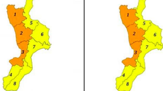allerta meteo, maltempo, Calabria, Cronaca