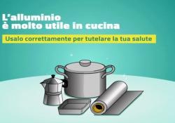 Alluminio: come usarlo correttamente in cucina La campagna informativa del Ministero della Salute - Corriere Tv