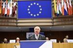 Karl-Heinz Lambertz durante il suo discorso sullo stato dell'Unione secondo le regioni - fonte: CdR