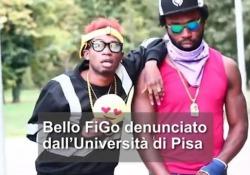 Bello FiGo denunciato dall'Università di Pisa Il rapper ha girato un video non autorizzato ad Economia - Ansa