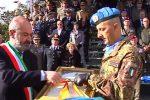Messina, la Brigata Aosta riceve le chiavi della città