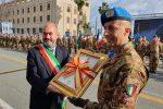 Messina, cerimonia di consegna delle chiavi della città alla Brigata Aosta: traffico in centro