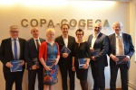 La nuova presidenza della Copa-Cogeca. Leonardo Pofferi, secondo da sinistra