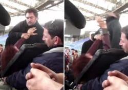 Claudio Santamaria preso a pugni (veri) sul set: «Che t'ho dato una cricca, frate'?» L'attore posta il video delle riprese di Jeeg Robot - Corriere Tv