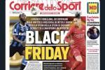 """Bufera sul titolo """"Black friday"""" del Corriere dello Sport, Fonseca: «Scelta infelice»"""
