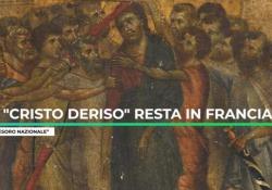 «Cristo deriso» di Cimabue, ritrovato in una cucina, resta in Francia Video Dichiarato «tesoro nazionale» - Ansa