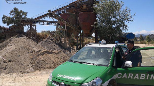cantiere, invaso, rifiuti, Cosenza, Calabria, Cronaca