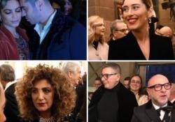 Da Boschi a Marcella Bella, ecco chi c'era alla Prima della Scala: il video-racconto Dalla protesta alle stravaganze il dietro le quinte della Tosca - Corriere TV