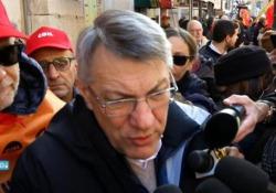 Ex Ilva, Landini a Mittal: «Basta scherzare, avete sbagliato ad andare in tribunale» Le parole del segretario generale Cgil dalla manifestazione dei lavoratori di Taranto a Roma - Corriere Tv
