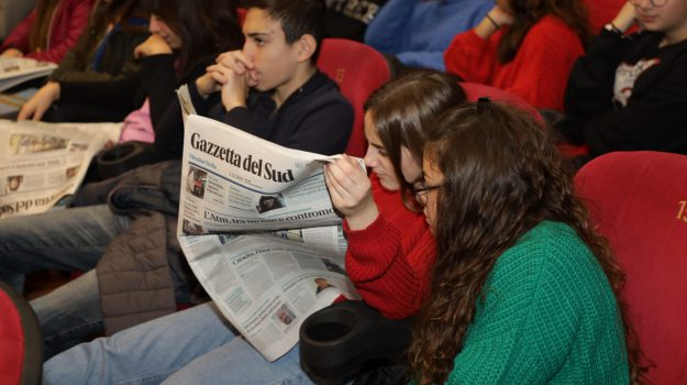 Gazzetta del Sud in classe, incontro con gli studenti del Boer Verona Trento a Messina