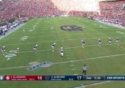 Il touchdown è da antologia: il coast to coast di Waddle Il touchdown di Jaylen Waddle è il punto sognato da ogni appassionato di football - Dalla Rete