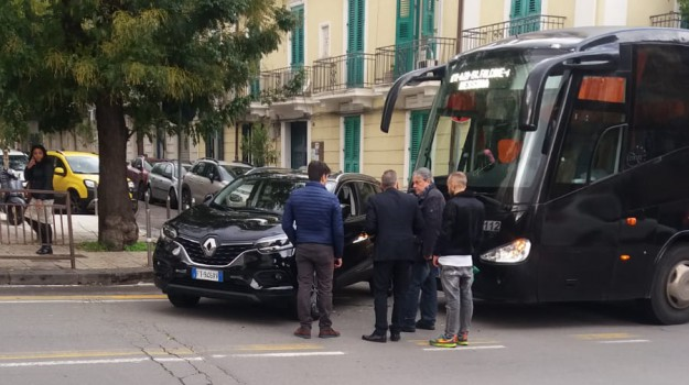 incidente, via cesare battisti, Messina, Sicilia, Cronaca