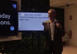 L'intelligenza artificiale di Google La storia di Dimitri Kanevski che usa lo smartphone come un traduttore - Corriere Tv