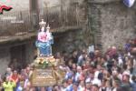 Portatori abusivi Madonna di Polsi, quattro fogli di via a Bagnara Calabra