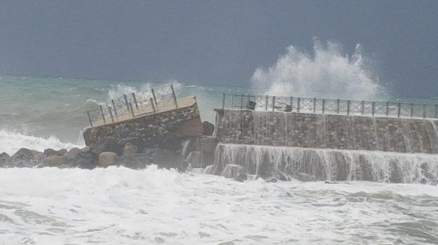 maltempo, mareggiata, meteo, Calabria, Cronaca