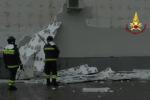 Maltempo a Cosenza, decine di richieste di aiuto ai vigili del fuoco