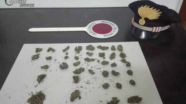 droga, marijuana, Daniele Faraci, Reggio, Calabria, Cronaca