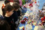 Vibo, il mercatino di Natale degli alunni dell'istituto Vespucci