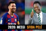 2020, l'anno della sfida di Messi a Pelé