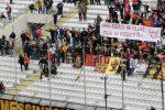 Messina, il videomessaggio per Dylan dagli azzurri del beach soccer e allo stadio spunta uno striscione