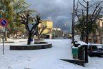 Neve nei paesi del Crotonese, le foto da Verzino a Cerenzia