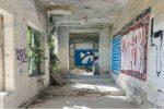 A rischio l'ospedale vecchio di via Acri a Catanzaro, è crollata una parte del tetto