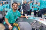 Formula 1, un reggino alla Mercedes di Lewis Hamilton