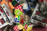 Giocattoli pericolosi, maxi sequestro dei vigili a Messina - Foto
