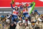 Sci alpino, l'italiana Sofia Goggia vince il SuperG di St. Moritz