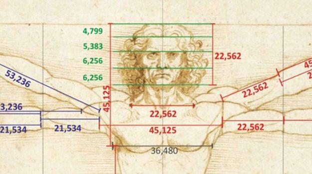 Uomo Vitruviano, Leonardo Da Vinci, Roberto Concas, Sicilia, Cultura