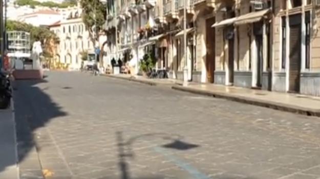 riapertura, via primo settembre messina, Antonio Cardia, Bruno Bringheli, Fabio Calabrò, Libero Gioveni, Messina, Cronaca