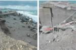 Erosione costiera nella zona nord di Messina, il borgo di Acqualadrone rischia di scomparire