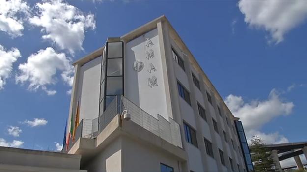 La sede dell'Amam di Messina