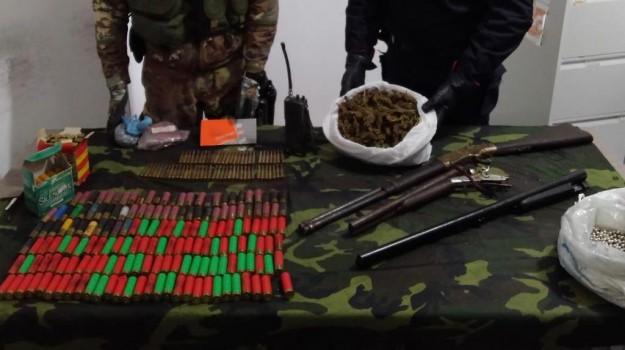 armi, droga, sant'ilario dello jonio, Reggio, Calabria, Cronaca