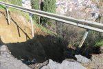 La frana di Montecroci a Barcellona, danni stimati: subito i lavori