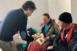 Giuseppe Falcomatà tra i volontari per aiutare i più poveri