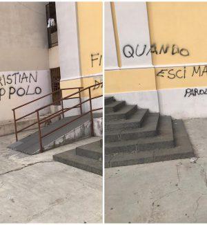 Femminicidio a Santa Lucia sopra Contesse, offese sul muro di una chiesa contro l'ex fidanzato