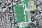 L'impianto sportivo di Condera a Reggio