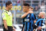 Inter, Lautaro Martinez squalificato per due giornate