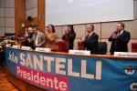 """Regionali, Santelli presenta i candidati a Reggio: """"Avrò un modo diverso di governare"""""""