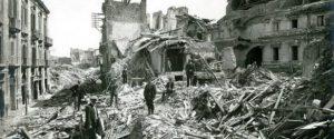 Messina - Palazzo Rosso distrutto dal terremoto del 1908