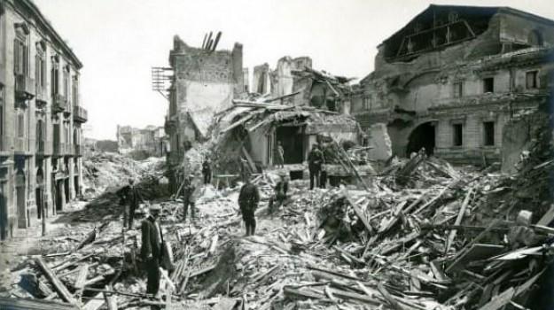 terremoto messina 1908, Gaetano La Corte Cailler, Giacomo Longo, Messina, Sicilia, Cultura