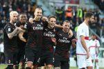 Ibrahimovic segna e il Milan torna a vincere: 2-0 al Cagliari